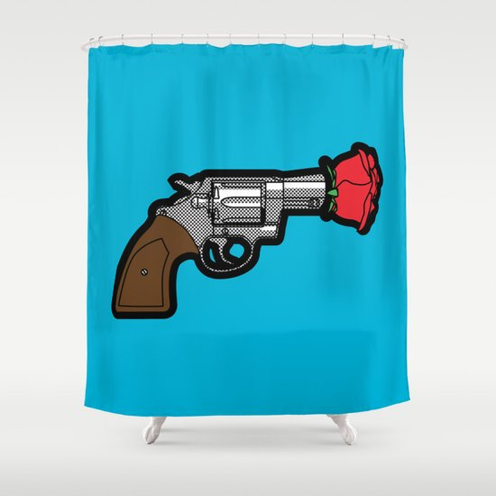 Pop Icon - Banksy Shower Curtain