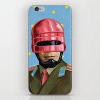 Pink Robocop iPhone & iPod Skin
