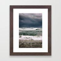 The Iron Sea Framed Art Print