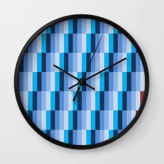 Fuzz Line #1 Wall Clock