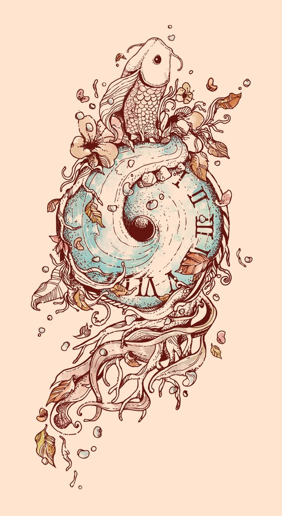 A Temporal Existence Art Print