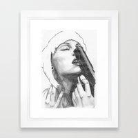 Gun control Framed Art Print