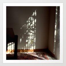 Window Light on Wall Art Print