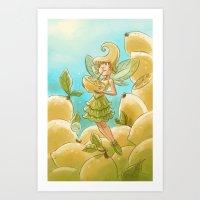 Goblins Drool, Fairies R… Art Print