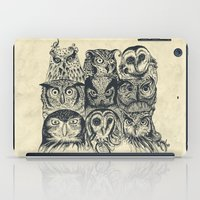 Nine Owls iPad Case