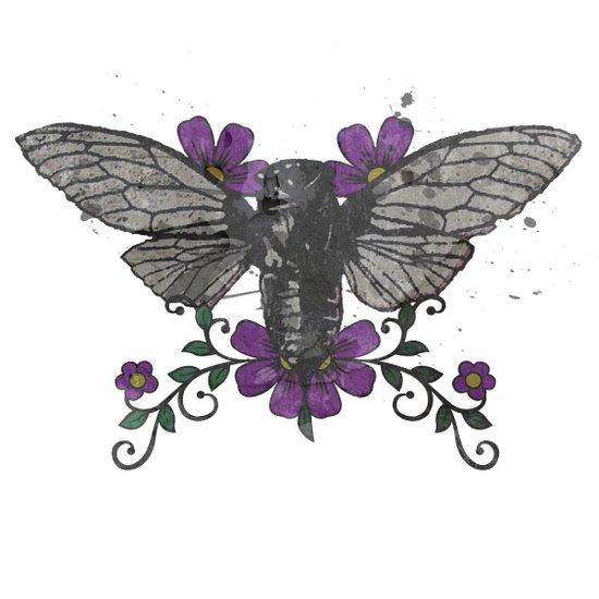 Seventeen Year Locust Art Print