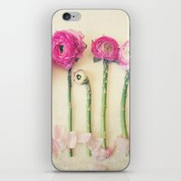Hello Little Flowers iPhone & iPod Skin