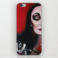 Morticia Addams iPhone & iPod Skin
