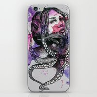 Octopus by carographic iPhone & iPod Skin