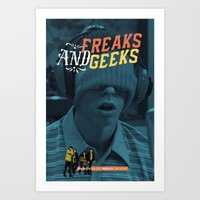 Freaks And Geeks Tv Post… Art Print