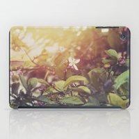 Lemon Flowers iPad Case