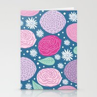 Mary Flower Stationery Cards