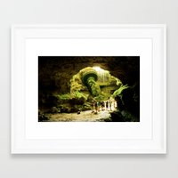 Journey to Lady Liberty Framed Art Print