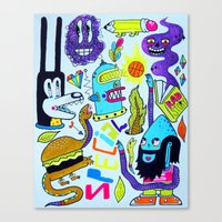 Very Special Things Canvas Print