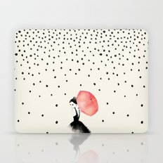 Polka Rain Laptop & iPad Skin