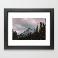 Mountain Love Framed Art Print