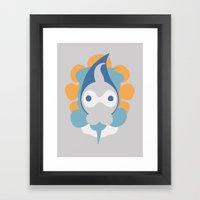 Pocket Monster 351 Framed Art Print