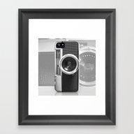 Framed Art Print featuring Camera by Nicklas Gustafsson