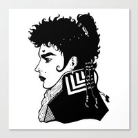 Adam Ant . Prince Charming Canvas Print