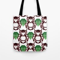 Emeralds & Demons [WHITE… Tote Bag
