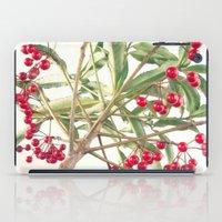Christmas Berry iPad Case