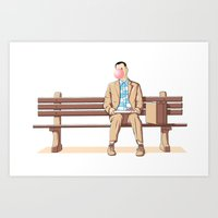 Bubble Gump Art Print