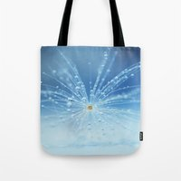 Star Of Drops Tote Bag