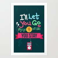 IF I STAY: I'll Let You Go Art Print