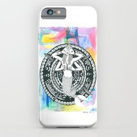 iPhone & iPod Case featuring mermaid love by Rufio Creative