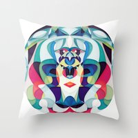 Say Nothing, Dream Somet… Throw Pillow
