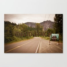 Directed by David Lynch Canvas Print