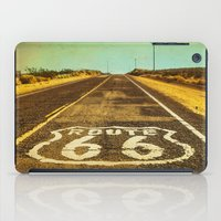 Route 66 Road Marker iPad Case
