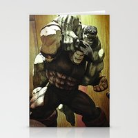 Hulk V.s. Juggernaut Stationery Cards