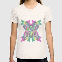 Hummingbird Womens Fitted Tee Natural SMALL