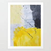 Abstract painting 3 Art Print