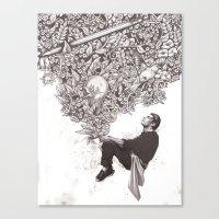 Aroma Canvas Print