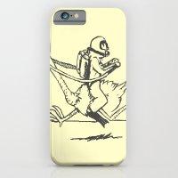 iPhone & iPod Case featuring Ostrich Scuba Rider by carlosPARCE