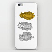 Silence Is Golden iPhone & iPod Skin