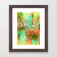 Garden Delights Framed Art Print