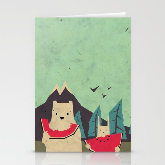 I want moaarrr! Stationery Card