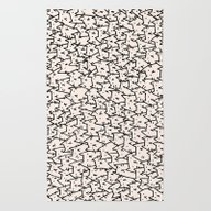 Rug featuring A Lot Of Cats by Kitten Rain