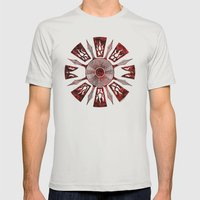 Dashása Redstone Mandal… Mens Fitted Tee Silver SMALL