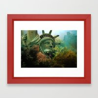 East Coast Sightseeing Framed Art Print