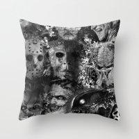 Horror Throw Pillow