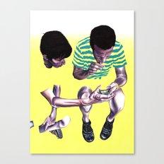 Fade. Canvas Print