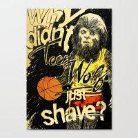 Teen Wolf Canvas Print