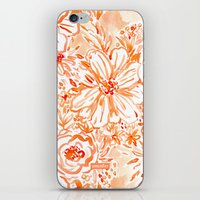 BIG SUNSHINE Floral iPhone & iPod Skin