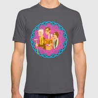The Darjeerling Limited Mens Fitted Tee Asphalt SMALL