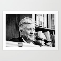 David Lynch (New York City, June 2011) Art Print