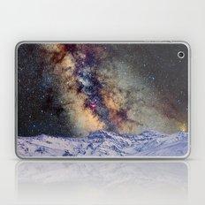 Sagitario, Scorpio and the star Antares over the hight mountains Laptop & iPad Skin